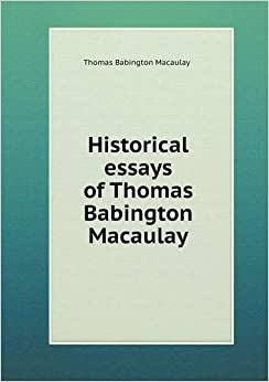 """ronald macaulay sex differences essay This essay examines the writing and reception of english historian catharine macaulay (1731–1791), looking particularly at the ways in which her publications established and changed the use of the phrases """"female historian"""" and """"fair historian"""" across the eighteenth century in great britain."""