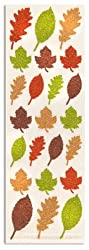 Martha Stewart Crafts Glittered Leaves Stickers By The Package