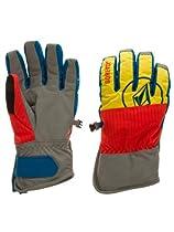 Volcom Full Pipe Gore-Tex Gloves Orange Mens Sz L