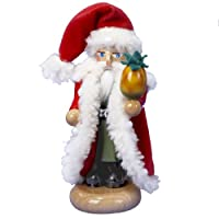 Kurt Adler Steinbach Limited Edition Miniature Pineapple Santa Nutcracker from Steinbach Nutcrackers