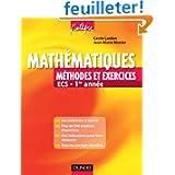 Mathématiques - Méthodes et Exercices ECS - 1re année