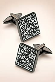 Qr Reader Square Cufflinks [T09-1249-S]