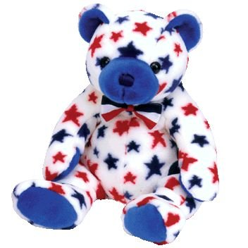 Ty Beanie Buddies Blue - Bear