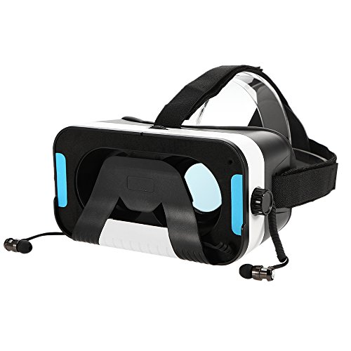 Docooler M6 3D VR Glasses with Headphone Universal for Smart Phones within 4.5 to 6.0 Inches