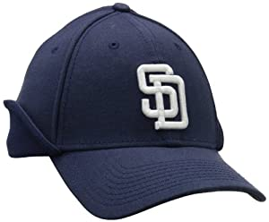 MLB San Diego Padres Authentic Collection Downflap 39Thirty Flex Fit Cap by New Era