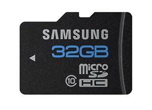 Samsung MB-MSBGA/EU Carte Mémoire Micro SD 32 Go Série Standard
