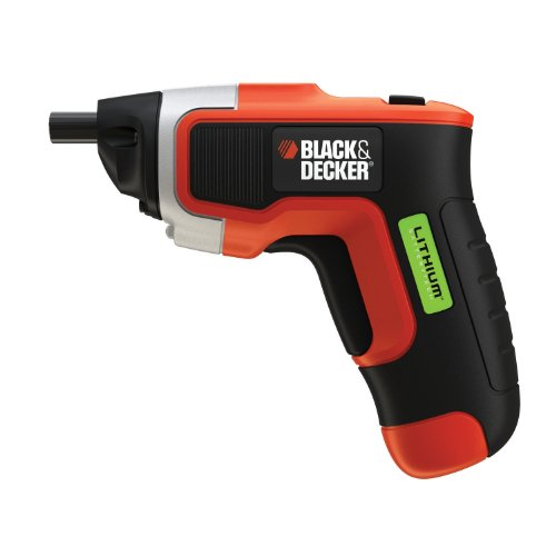 Black & Decker LI3100 Compact Lithium-Ion Driver with Cordless Rechargeable Screwdriver