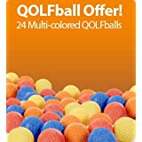 "QOLFballs (24 BULK multi colored balls) (Misc.) By QOLF          Click for more info     Customer Rating:       First tagged ""golf ball"" by Nightlygolf"