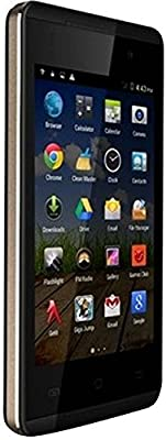 Micromax Fire A093 (Black-Gold)