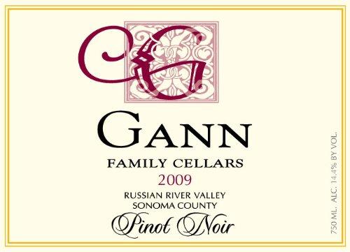 2009 Gann Family Cellars Pinot Noir 750 Ml