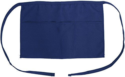 Professinal-Waist-Apron-with-3-Front-Pockets-20W-x-10L