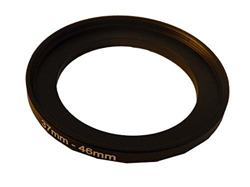 vhbw Step UP Filter-Adapter 37-46mm schwarz für Canon Casio Pentax Olympus Panasonic Sony Nikon Ricoh Sigma Tamron Samsung Fujifilm Agfa Minolta Kodak