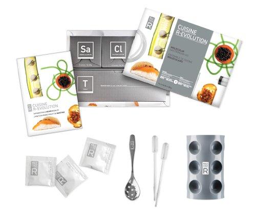 Molecule r cuisine r evolution utensili per cucina molecolare con stampo in silicone - Cucina molecolare sferificazione ...