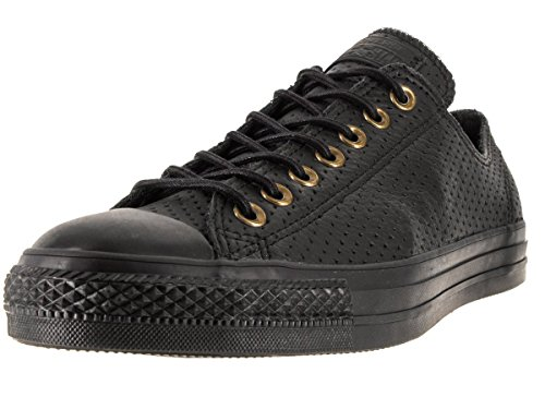 Converse Unisex Chuck Taylor All star Ox Black/Biscui Basketball Shoe 10 Men US / 12 Women US