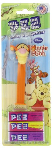Pez Winnie The Pooh Assorted Dispensers, Dispensers With 3 Candy Refills (Pack Of 6)