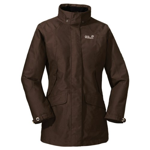 Jack Wolfskin QUEENS COAT WOMEN coffee brown