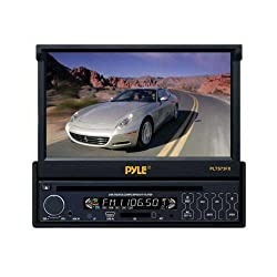 See Pyle PLTS73FX - 1-DIN DVD/CD Receiver with 7