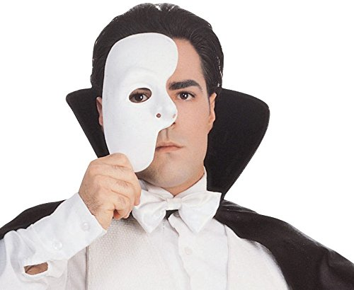 [Phantom of the Opera Mask Theatrical and Halloween Costume Accessory Mask] (Dog Phantom Of The Opera Costume)