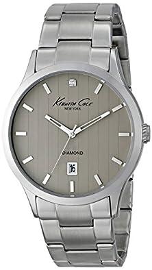 buy Kenneth Cole New York Men'S Kc9368 Dress Sport Analog Display Analog Quartz Silver Watch
