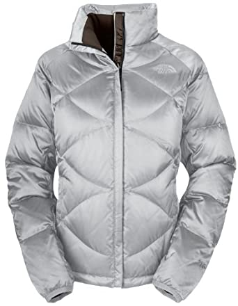 The North Face Aconcagua Jacket Metallic Silver Womens Sz M