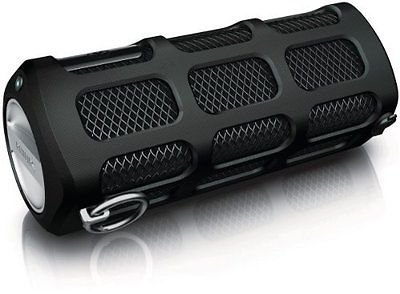 Black Shoqbox Bluetooth Portable Speaker With Built-In Speakerphone