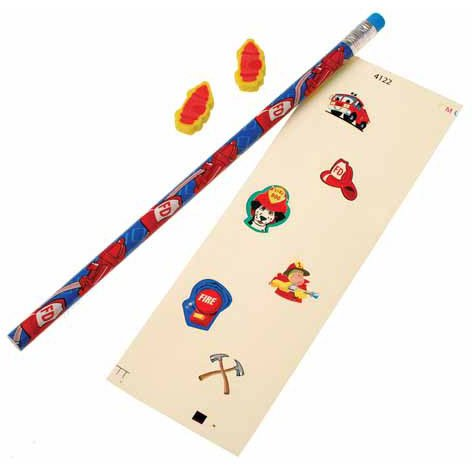 Firefighter Stationery Sets