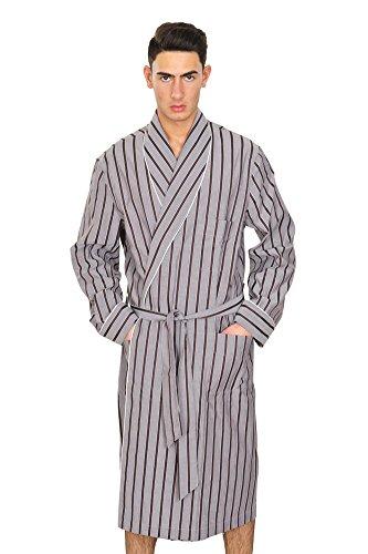 le-brioni-robe-men-gray-size-eu-l