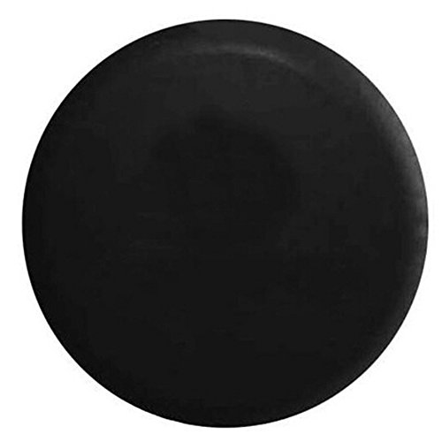 BCP Black Color PU Leather Spare Tire Cover (Fit 23-27 inches) (23 Tires compare prices)