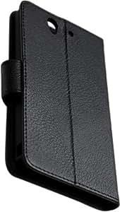 nCase PFBC-8651BK Book Type Cover for Sony Xperia Z C6602/L36i (Black)