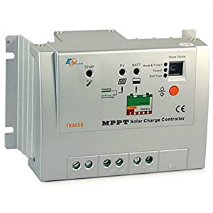 Epsolar Tracer -2210RN +Remote Meter MT-5 MPPT 20A Solar Panel Regulator Charge Controller 12/24v Auto Work for Off Grid Battery Charging from EPsolar