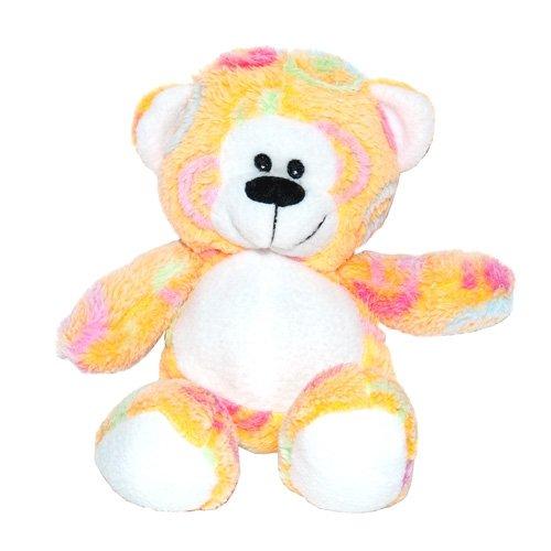 Orange Swirl Bear