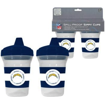 NFL San Diego Chargers 2 Pack Sippy Cup