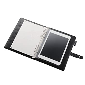 iPadミニを収納できるシステム手帳兼ケース xPAD(クロスパッド) TB-A12STRBK