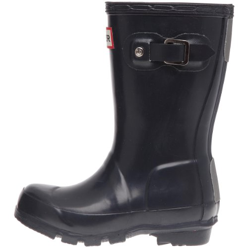 Hunter Hunter Wellies Original Kids Navy Blue Rubber Boots W23500-US 2 Girls / US 1 Boys