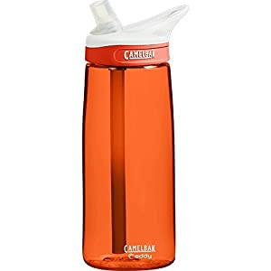 CamelBak Eddy Water Bottle, Lava, .75-Liter