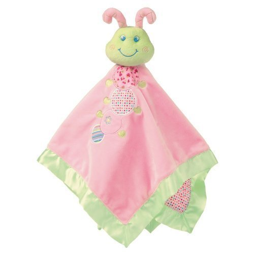 "Mary Meyer Cutsie Caterpillar Baby Blanket (17""x17"") - 1"