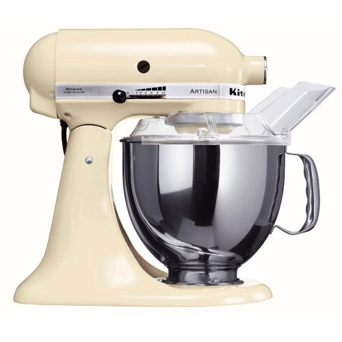 KitchenAid Artisan 5KSM150PSEAC Almond Cream 220 volt - Will Not Work In The USA (Cream Kitchenaid Mixer compare prices)