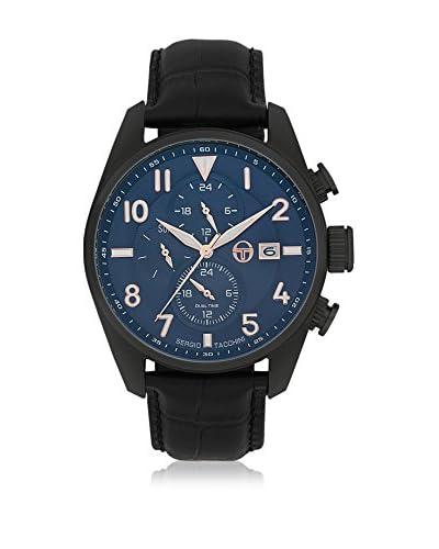 Sergio Tacchini Reloj de cuarzo Man Negro 43 mm