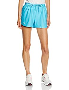 Under Armour Play Up Short Femme Island Blues/White FR : L (Taille Fabricant : LG)