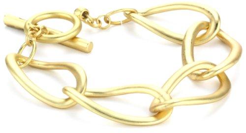 Kenneth Cole New York Gold-Tone Link Toggle Bracelet