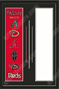Atlanta Braves & Your Choice of other Team Heritage Banner Framed-House... by Art and More, Davenport, IA