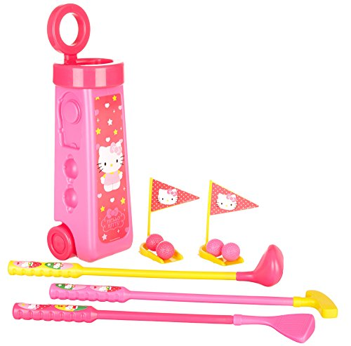 what-kids-want-hello-kitty-golf-caddy