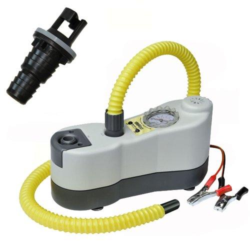 bootsshop in Bad Ischl Bravo-E-Luftpumpe Bravo BP elektrische Luftpumpe mit Manometer und Halkey Roberts Ventil