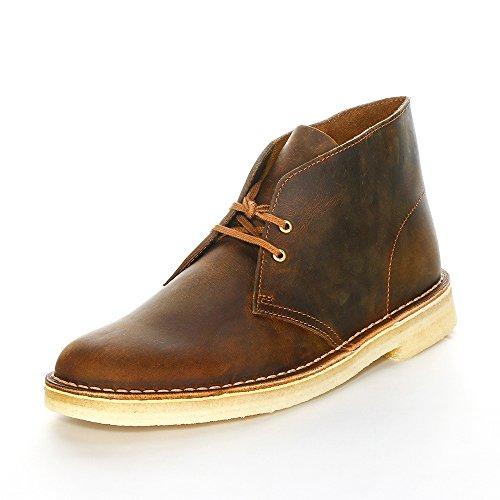Clarks Originals - Desert Boot, Stivali Desert Boots da uomo, marron (beeswax), 41