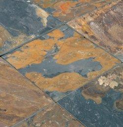 Slate Tile Rustic Gold / 12