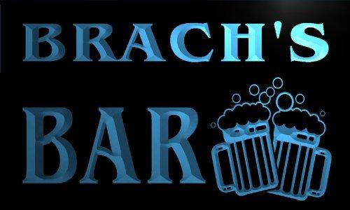 w019657-b-brach-name-home-bar-pub-beer-mugs-cheers-neon-light-sign