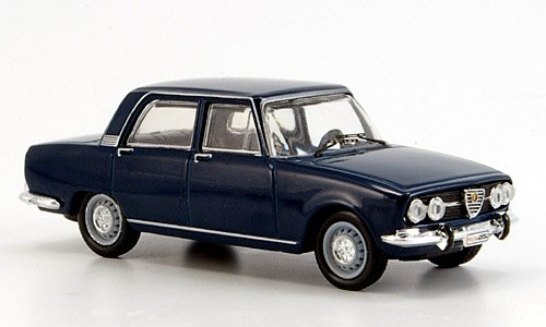 Imagen 1 de Alfa Romeo 2000 Berlina, azul, 1971, Modelo de Auto, modello completo, M4 1:43