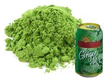 Ginger Ale Matcha Tea