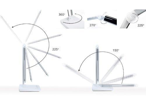 09 tech lampada da tavolo a led con sistema touch luce - Meglio luce calda o fredda in cucina ...
