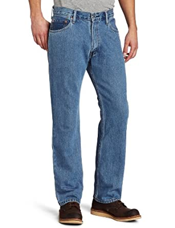 Levi's Men's 505 Regular Fit Jean, Medium Stonewash, 29x30